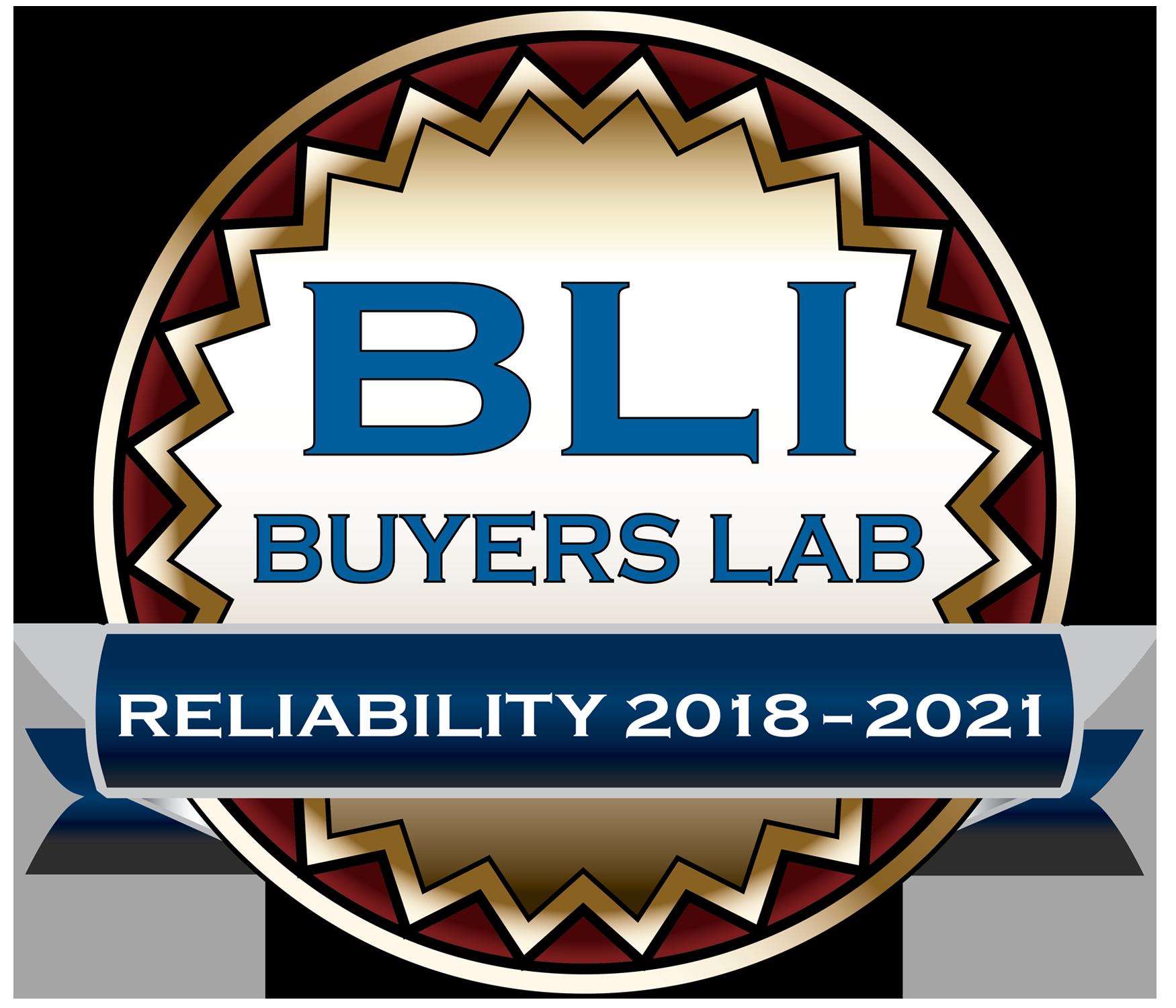 Bli reliability award