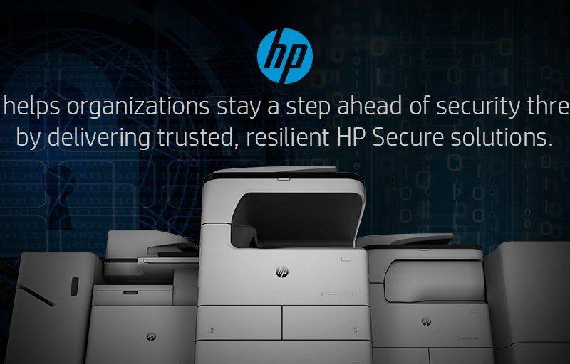 HP secure printers